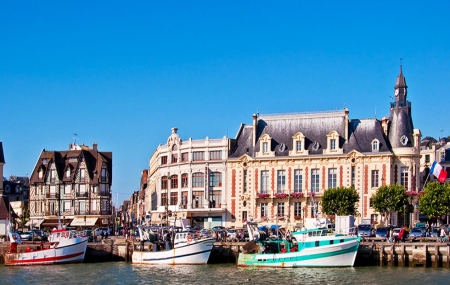 Normandie, Trouville : vente flash, week-end 2j/1n en hôtel 4* + petit-déjeuner