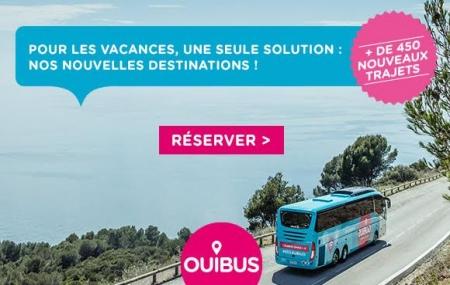 OUIBUS : plus de 450 nouveaux trajets cet été, en France et à l'étranger dès 5 €