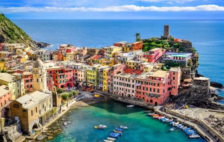 Cinque Terre : vente flash, 4j/3n en hôtel 3* + petits-déjeuners + pass trains & vols