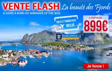 Royal Caribbean : croisière 8 jours Les plus beaux fjords de Norvège - vols inclus