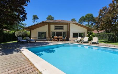Landes, été : location 8j/7n en villa avec piscine privée, proche plage, - 50%