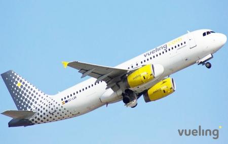 Vueling : vente flash spéciale, 1 300 000 de places à partir de 29.99 €/pers.