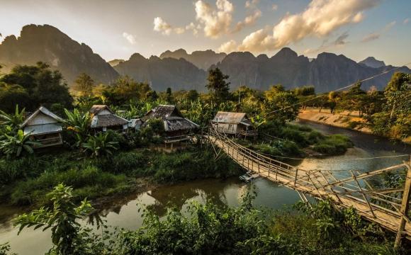 10 villages dignes de cartes postales - Vang Vieng