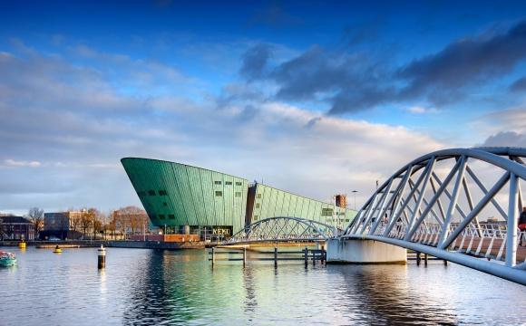 10 activités gratuites à faire à Amsterdam - La ville, vue du toit du NEMO