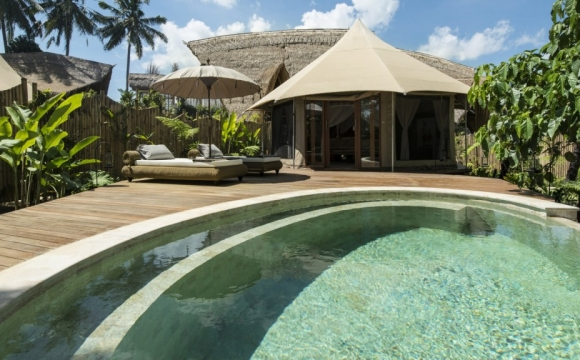 8 hôtels où l'on aimerait vivre à l'année - Sandat Glamping à Bali