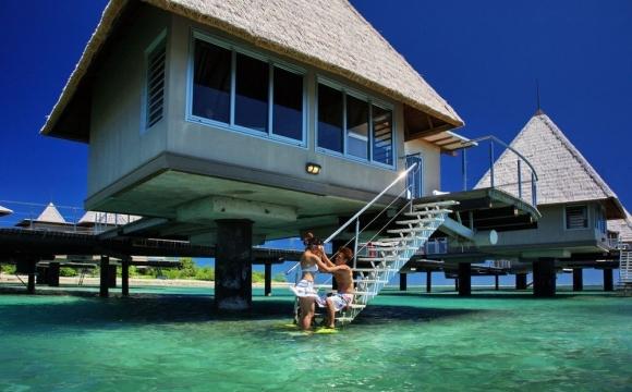 8 hôtels de rêve sur pilotis - L'Escapade Island Resort