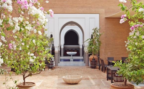 Top 10 des lieux à visiter à Marrakech - Prendre une pause thé à La Mamounia