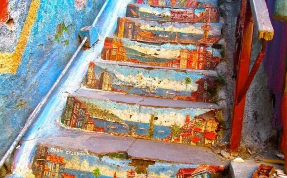 Les 15 plus belles marches du monde - Valparaiso