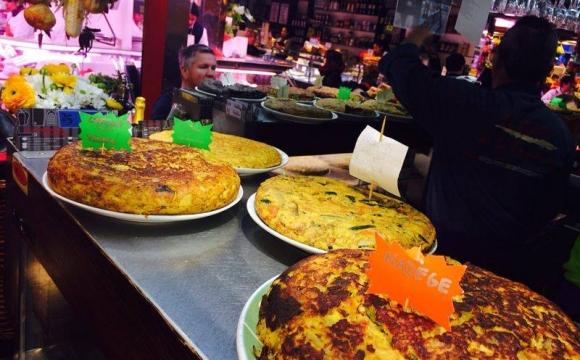 Envie de Tapas à Barcelone - El Quim de la Boqueria : les comptoirs du marché