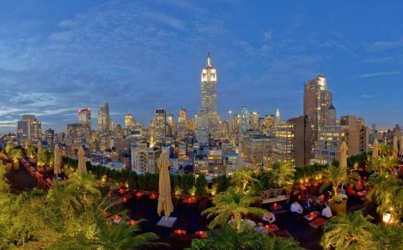 10 bars rooftops à New-York