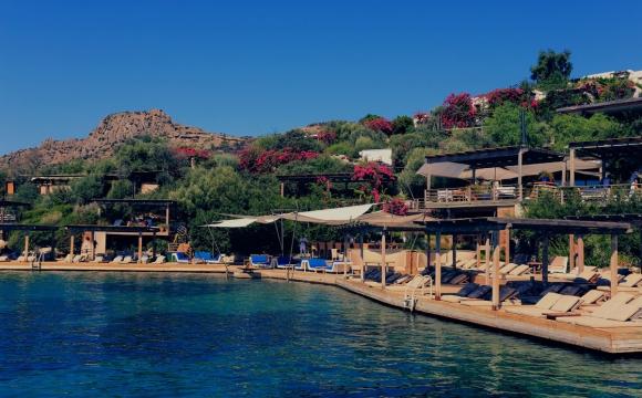 Les 10 plus beaux bars sur la plage - Maçakizi à Bodrum