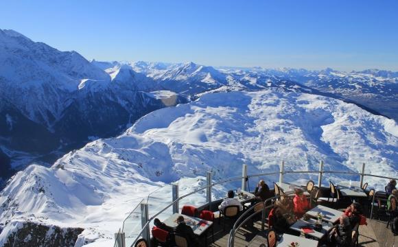 10 restaurants situés dans des endroits sensationnels - Restaurant le Panoramic à Chamonix