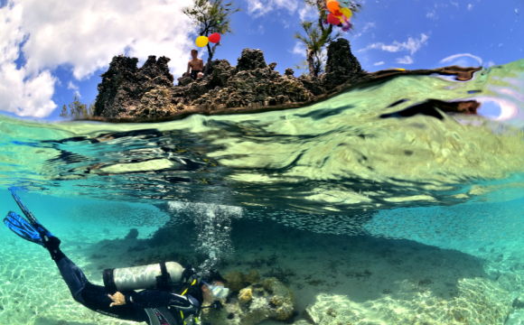 10 raisons de partir à l'Île Maurice en basse saison - Admirez ces fonds marins exceptionnels !