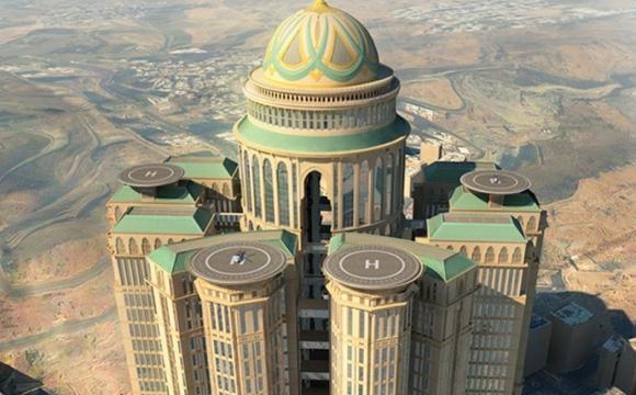 Les 10 plus grands hôtels du monde - Abraj Kudai en Arabie Saoudite