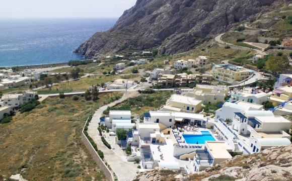 10 hôtels romantiques à Santorin - Kamari comme à la maison
