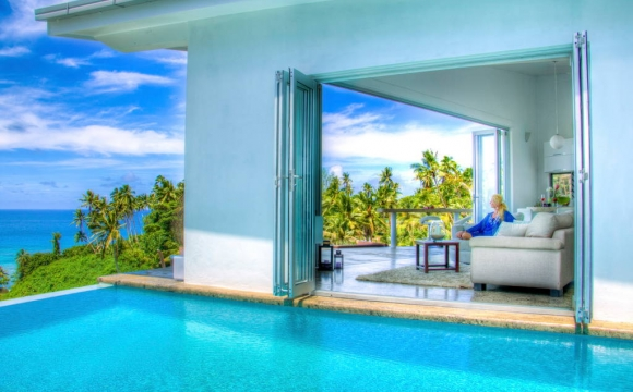 Les 10 plus belles villas d'été vues sur Airbnb - Vacala Bay Resort Villa dans les îles Fidji