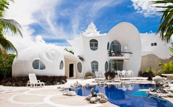 Les 10 plus belles villas d'été vues sur Airbnb - The Seashell House
