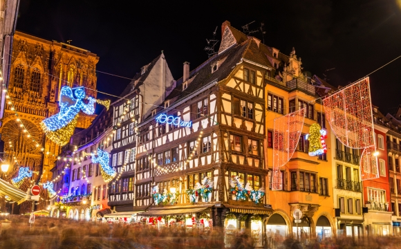 Les 10 plus belles villes à Noël , Strasbourg, France