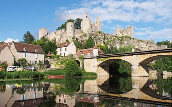Les 10 plus beaux villages de France - ANGLES SUR ANGLIN, Vienne