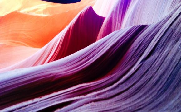 Top 10 des destinations les plus colorées du monde - ANTELOPE CANYON, Etats-Unis