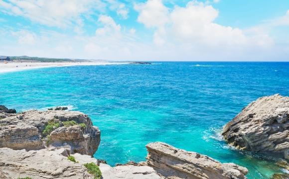 Les 10 plus belles plages de Sardaigne - Is Arutas, la colorée
