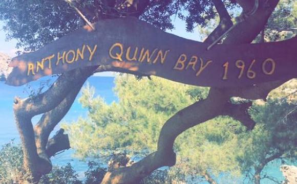 5 visites incontournables à Rhodes - La baie d'Anthony Quinn