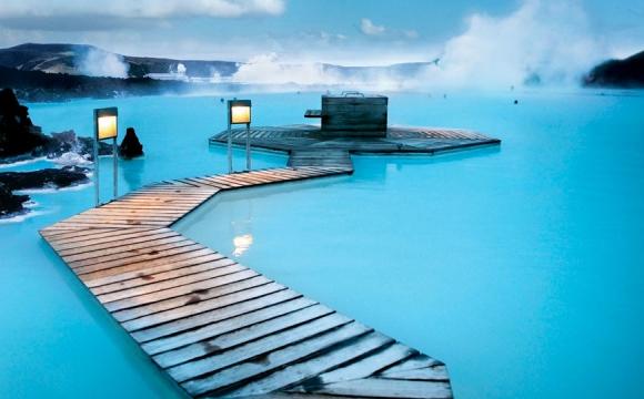 Les 10 plus grandes piscines du monde - Blue Lagoon Geothermal Spa en Islande