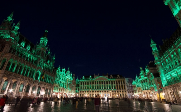 10 monuments aux couleurs de la Saint-Patrick - Grand-Place, Bruxelles