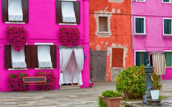 10 photos de voyage pour voir la vie en rose - Les maisons colorées de Burano, Italie