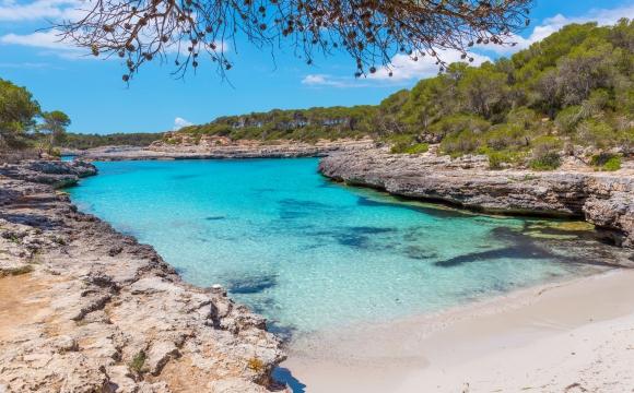 Les 10 plus belles plages de Méditerranée - Cala Mondrago, Majorque