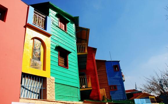 Top 10 des destinations les plus colorées du monde - CAMINITO, Argentine