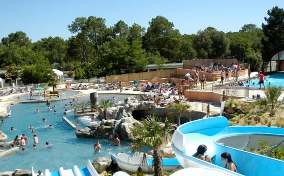 10 campings avec parcs aquatiques - Camping le Palace, Aquitaine