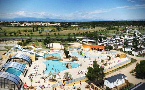 10 campings avec parcs aquatiques - Camping le soleil de la Méditerranée, Languedoc