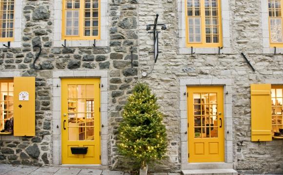 Les 10 plus belles villes à Noël - Vieux-Québec, Canada