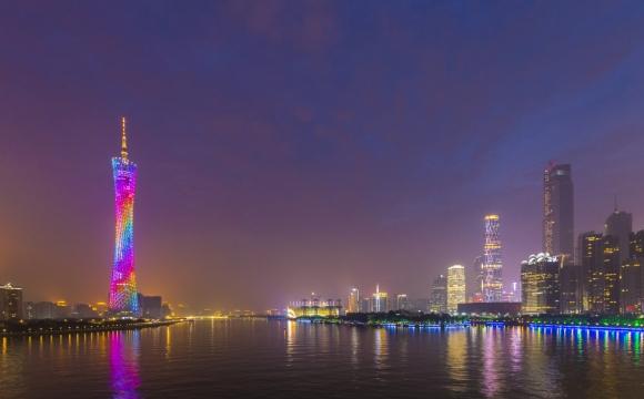 Les 10 plus grandes tours du monde - La Canton Tower de Guangzhou
