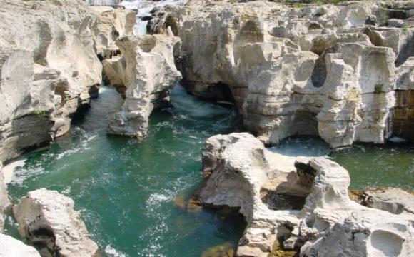 Les plus belles piscines naturelles - Les cascades du Sautadet