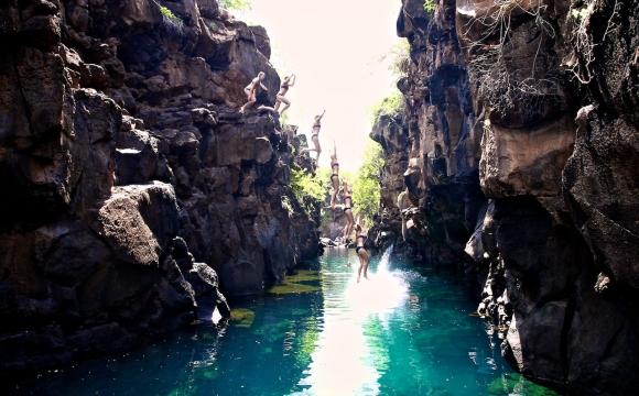 Les 10 plus belles piscines naturelles au monde - Las Grietas en Equateur