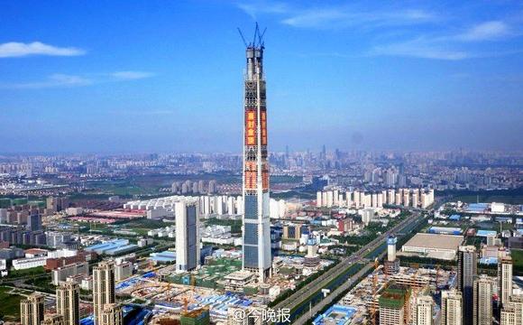 Les 10 plus grandes tours du monde - La China 117 Tower