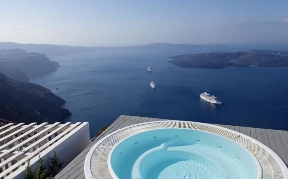 10 hôtels romantiques à Santorin - Coupé du monde à Imerovígli