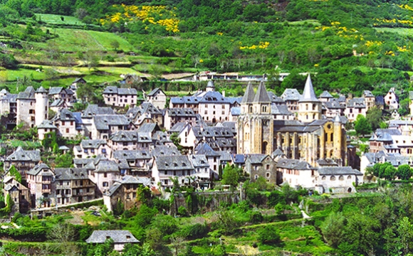 Les 10 plus beaux villages de France - CONQUES, Aveyron
