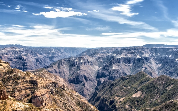 Les 10 plus beaux canyons du monde  - Copper Canyon