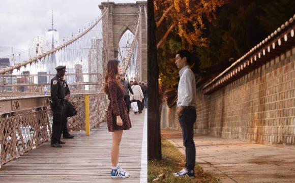 Entre Séoul et New-York, un couple prolonge sa romance - Une balade...