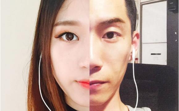 Entre Séoul et New-York, un couple prolonge sa romance - Un reflet dans le miroir...