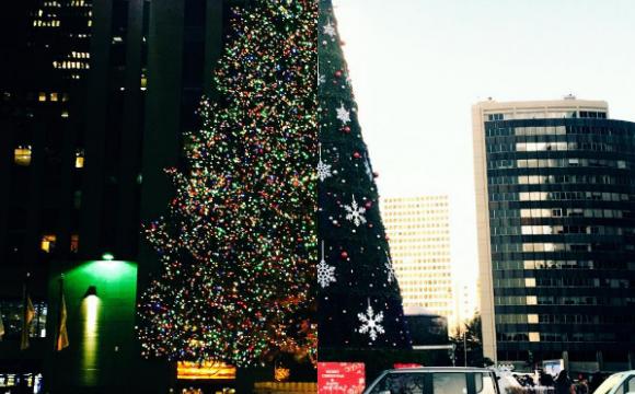 Entre Séoul et New-York, un couple prolonge sa romance - Mais aussi leur sapin de Noël !