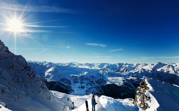 Les 5 plus beaux domaines skiables du monde - Courchevel, France