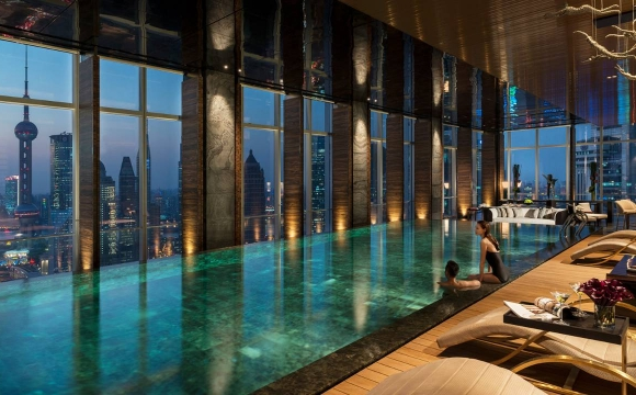 8 hôtels où l'on aimerait vivre à l'année - Hotel four seasons hotel pudong à Shanghai