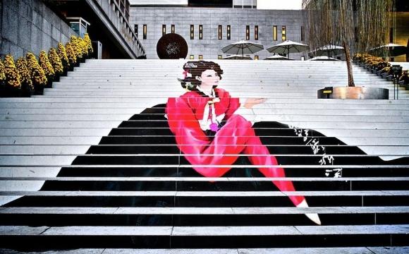 Les 15 plus belles marches du monde - Les escaliers du Théâtre musical de Seoul