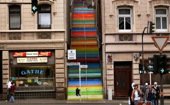 Les 15 plus belles marches du monde -  Scala à Wuppertal