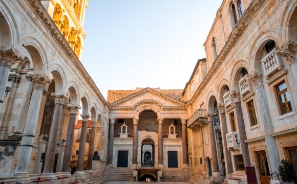 10 visites incontournables en Croatie - Palais de dioclétien à Split