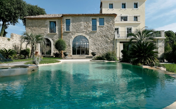 Les 10 plus belles piscines de France - Domaine de Verchant à Montpellier